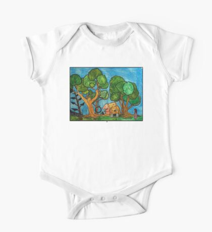 Fast asleep Foxes Kids Clothes
