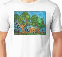 Fast asleep Foxes Unisex T-Shirt
