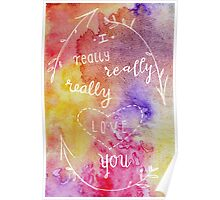 I really, really, really love you. 2 Poster