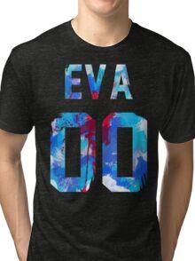 EVA-00 Revision (Neon Genesis Evangelion) Tri-blend T-Shirt