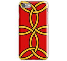 triquetra cross cv  quadriskel celtic tattoo iPhone Case/Skin