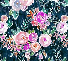 MIDNIGHT PROFUSION FLORAL by Barbarian