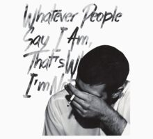 Arctic Monkeys - Whatever People Say I Am, That's What I'm Not by arcticmonkis