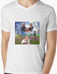 Bush x Milk Collaboration Mens V-Neck T-Shirt