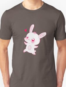 Cute pink little bunny Unisex T-Shirt