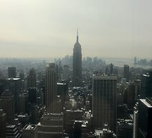 Empire State Building, New York City by kissofbuddha