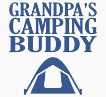 Grandpa's Camping Buddy One Piece - Short Sleeve