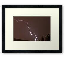 Lightning-5 Framed Print