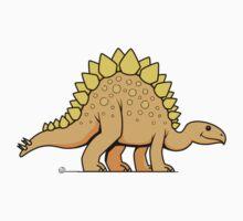 DinoKids Stegosaurus 01 One Piece - Long Sleeve