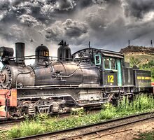 Shay Locomotive No. 12 by lkrobbins