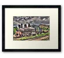 Shay Locomotive No. 12 Framed Print
