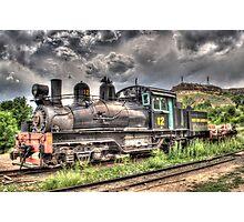 Shay Locomotive No. 12 Photographic Print