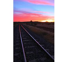 Outback Railway - Cloncurry Photographic Print