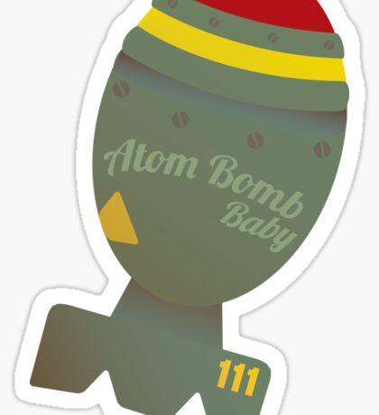 Atom Bomb Baby Sticker