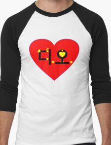 ♥♫I Love EXO-K D.O. Clothes & Stickers♪♥ Men's Baseball ¾ T-Shirt