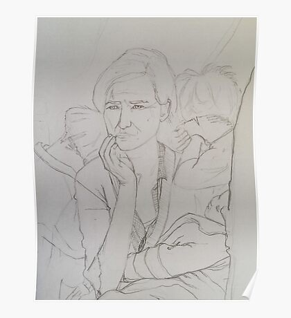 Artist Contours Project: Ode to Dorothea Lange Poster