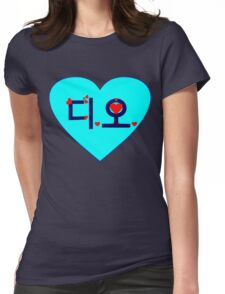 ♥♫I Love EXO-K D.O. Clothes & Stickers♪♥ Womens Fitted T-Shirt