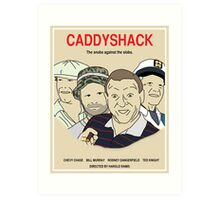 Caddyshack Movie Poster Art Print