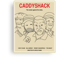 Caddyshack Movie Poster - Plain Version Canvas Print