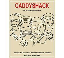 Caddyshack Movie Poster - Plain Version Photographic Print