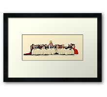 Storybrooke's Last Supper Framed Print
