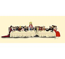 Storybrooke's Last Supper Photographic Print