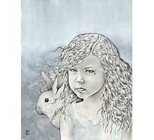 Feral Alice in Wonderland Photographic Print