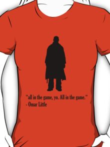 "The Wire - Omar Little ""All in the Game"" T-Shirt"