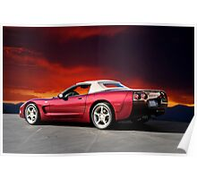 2002 Corvette 50th Anniversary Convertible IV Poster