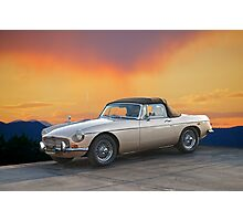 1973 MGB Roadster Photographic Print