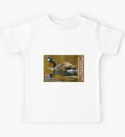 Lakeviewtimes Business Card Kids Tee