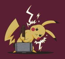 Pikachu uses Mjolnir! by JollyNihilist