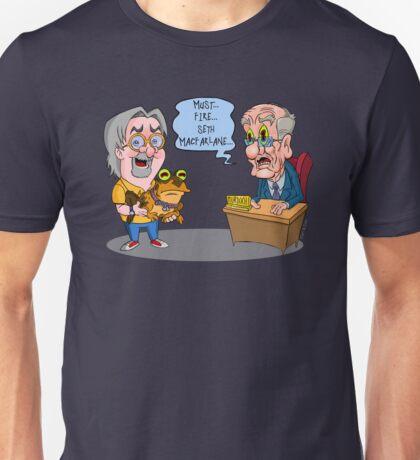 Matt Groening Saves Prime Time Animation Once Again! Unisex T-Shirt