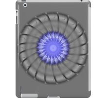 Blue and Grey iPad Case/Skin
