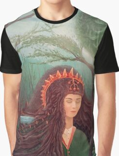 Forest Queen artwork Graphic T-Shirt