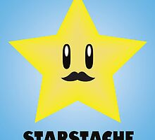 Starstache by Lauramazing