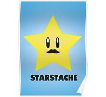 Starstache Poster