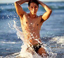 Male Splash I by BrianJoseph