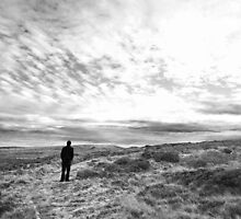 Man on Moors 'Heathcliff' by paulasphotos101