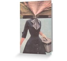 Girl. Greeting Card
