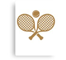 Cool Tennis Sport Design Canvas Print