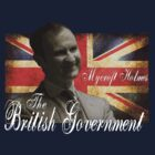 Mycroft Holmes - The British Government by shefallsasleepx