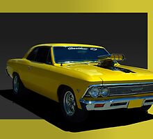 1966 Chevelle Dragster by TeeMack