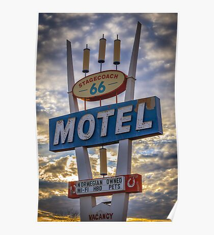Stagecoach Motel Poster