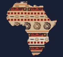 Ornamental ethnic Africa Kids Tee