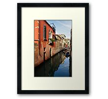 La Serenissima - the Most Serene - Venice Italy Framed Print