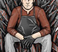 Dexter'rs Throne Sticker