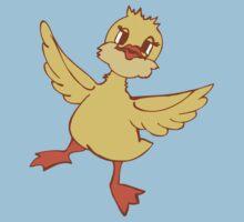 Jolly dancing duckling One Piece - Short Sleeve