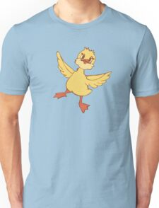 Jolly dancing duckling Unisex T-Shirt