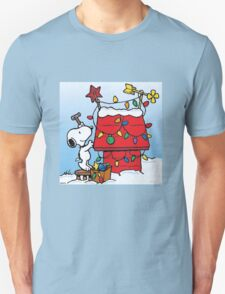 Snoopy Waiting for christmas Unisex T-Shirt